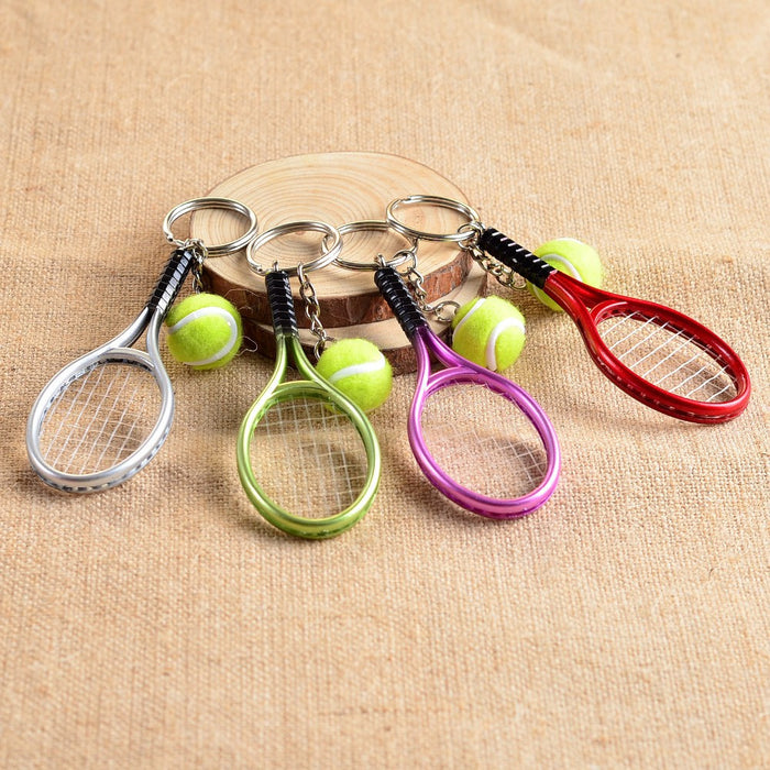 Tennis Key Ring