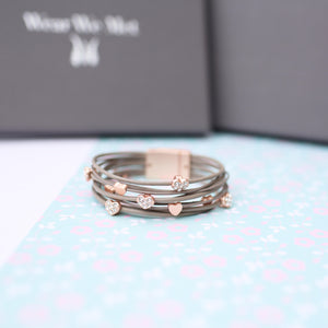 Hearts Forever Wear We Met Bracelet