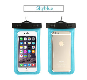 Waterproof Phone Blue
