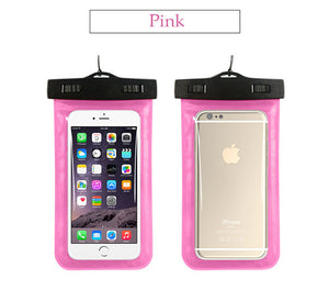 Waterproof Phone Beach Pink