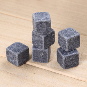 Whiskey Stones grey