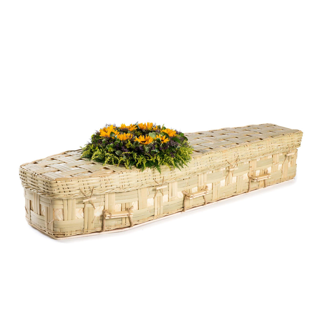 Bamboo Eco Coffin - Thinkwillow.com Free UK mainland delivery