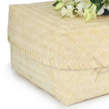 Infant Bamboo Light Casket detail - Free Delivery thinkwillow.com