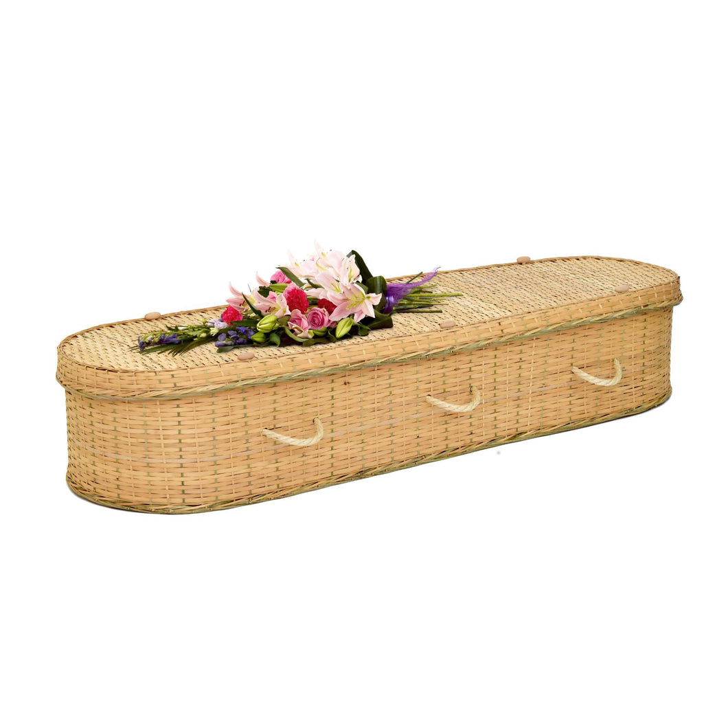 Affordable Bamboo Coffin image