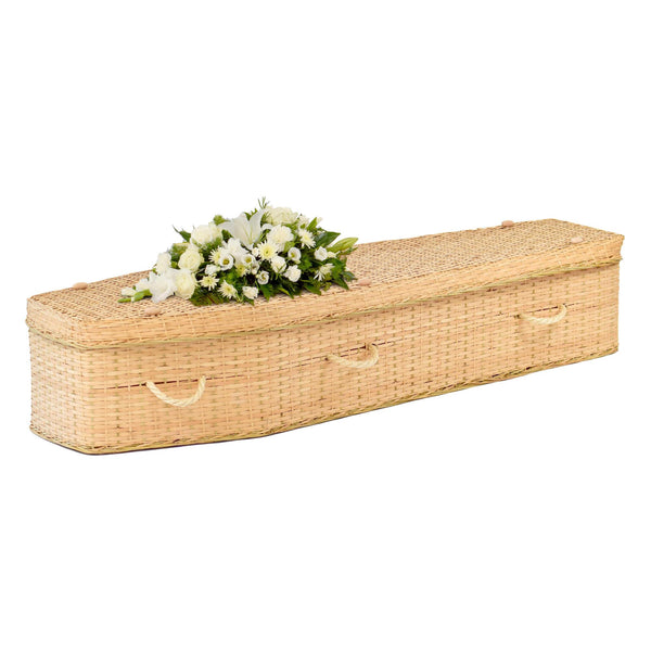 Bamboo Garland Coffin Full