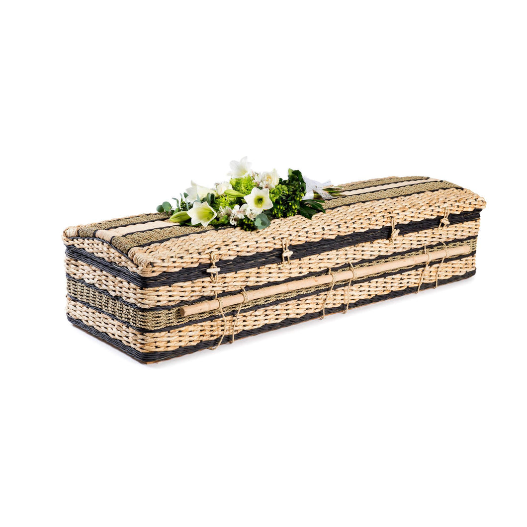 Banana Leaf Natural Eco Casket - Free Delivery to mainland UK - thinkwillow.com
