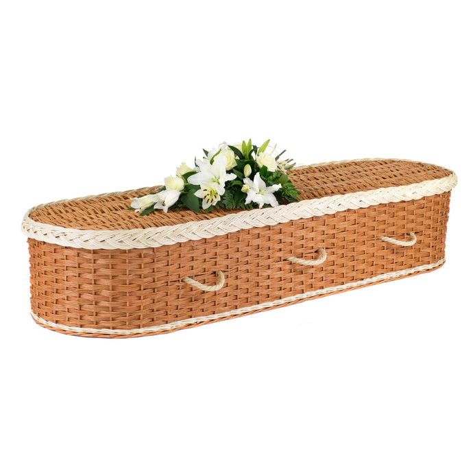 Stansfield Willow White Coffin image