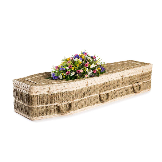 Pandanus Traditional Wicker coffin