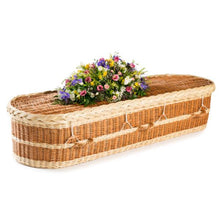 Rounded English Willow Coffin - thinkwillow.com