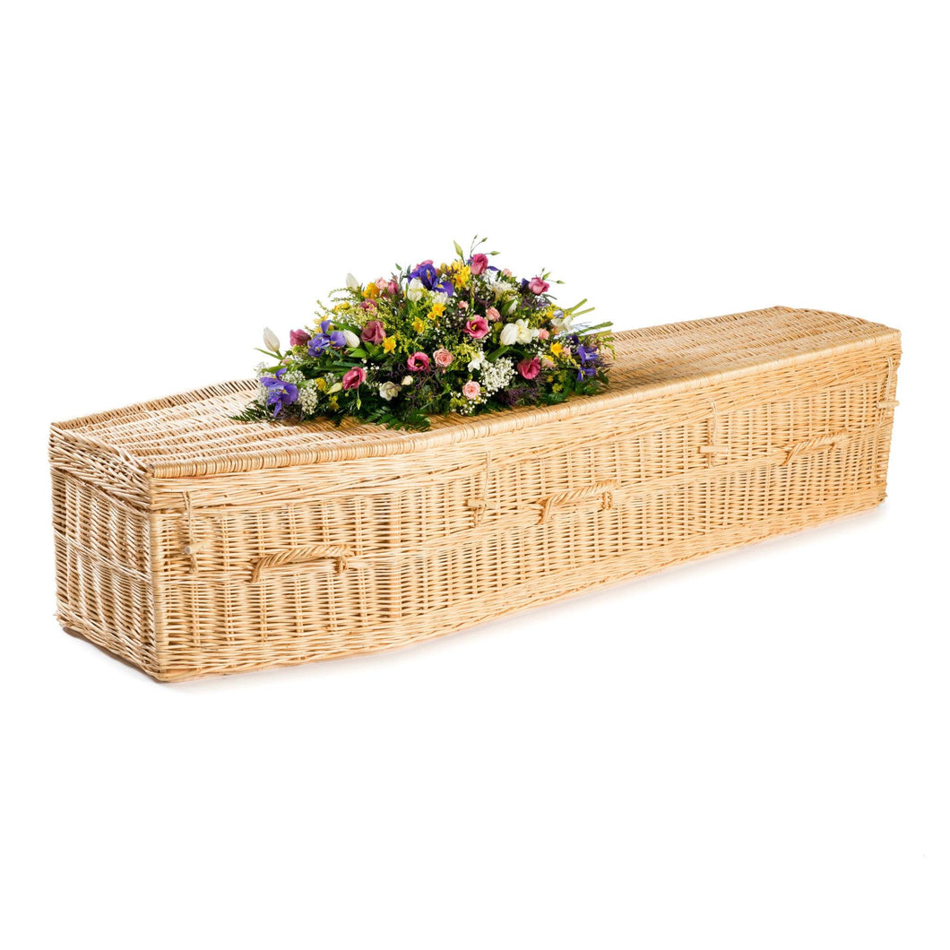Eco Willow Light Coffin - Free Delivery, thinkwillow.com