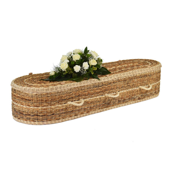Banana Eco Rounded Coffin Full