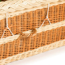 Rounded English Willow Coffin detail - thinkwillow.com