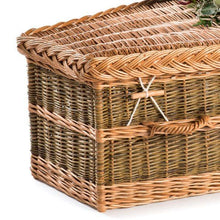 Willow Wicker coffin detail - Thinkwillow.com
