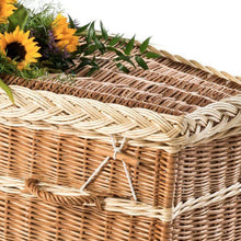 Willow Wicker coffin detail .- Thinkwillow.com