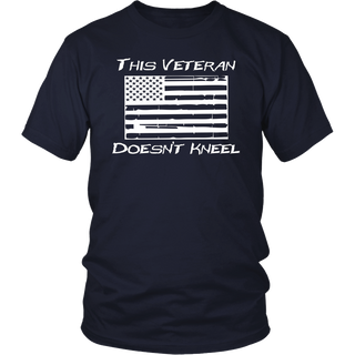 This Veteran Doesn't Kneel (I Don't Kneel) T Shirt
