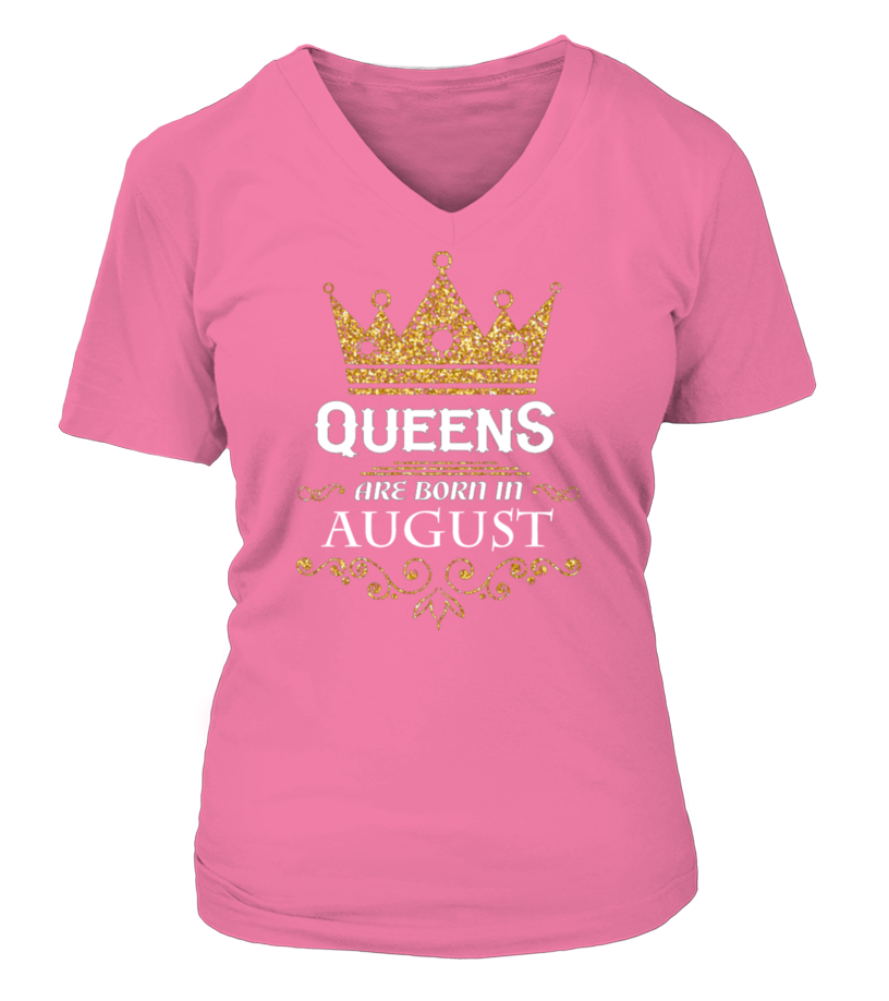 Queens Are Born In August Tank-Top Teespring