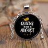 Queens Are Born In August Necklace 1000+ SOLD!!