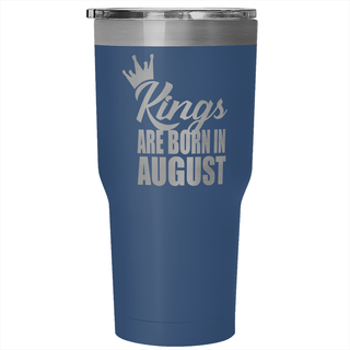 Kings Are Born In August Tumbler