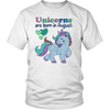 Unicorns Are Born In August T shirt