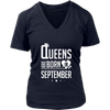 Queens Are Born In September Shirt