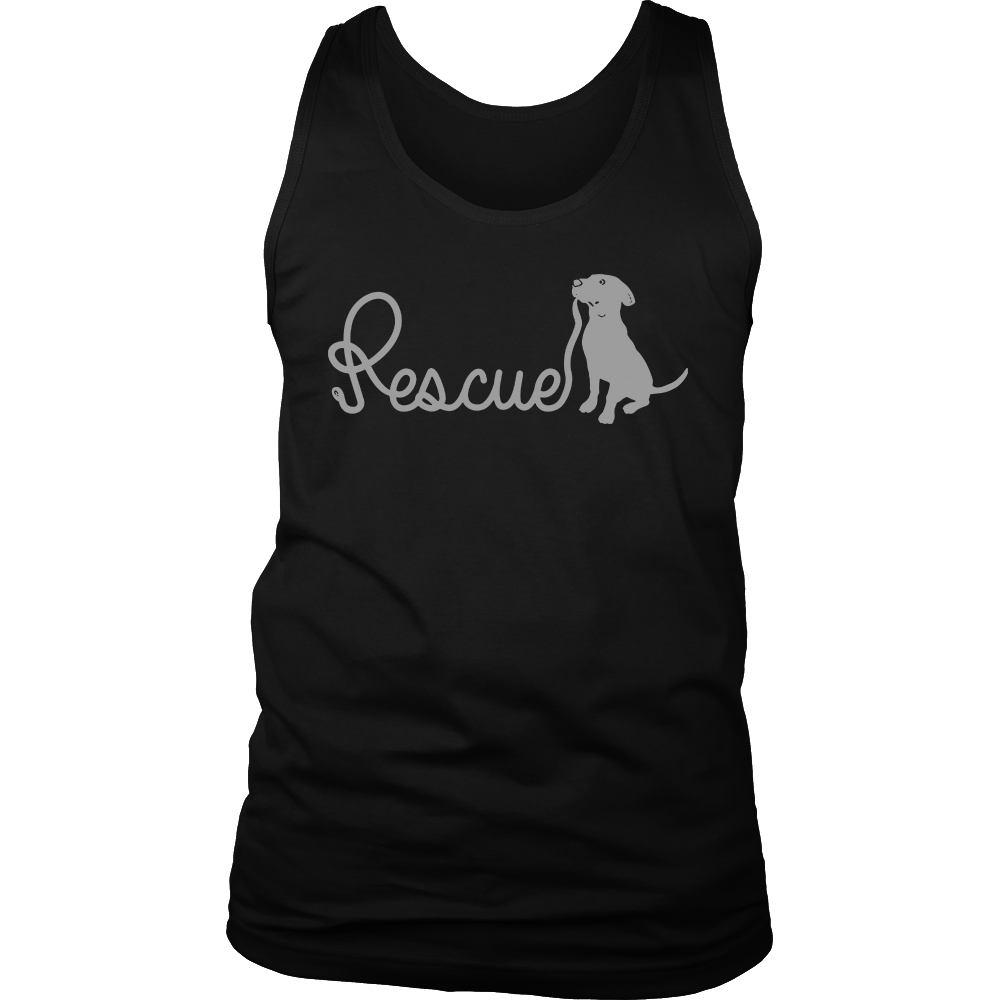 Rescue Leash V-Neck t-shirt