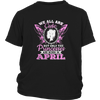 Queens Are Born In April Shirts
