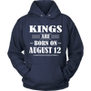 Kings Are Born On August 12 T-Shirt
