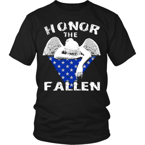 Honor The Fallen Thank The Living T-Shirt Memorial's Day