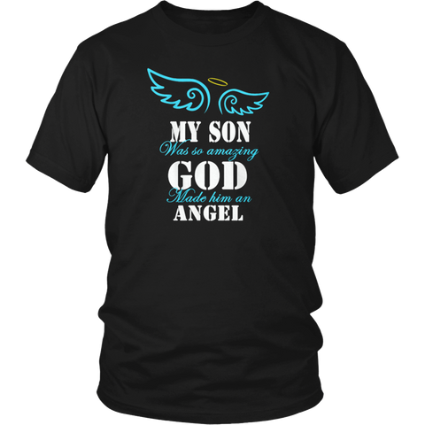 I Asked God For A Best Friend He Sent Me My Son T-Shirt