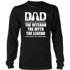 DAD The Veteran The Myth The Legend T-Shirt