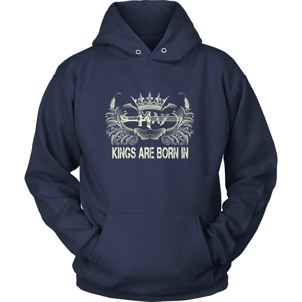 Kings Are Born in May Birthday Gift Shirt Ideas 2017