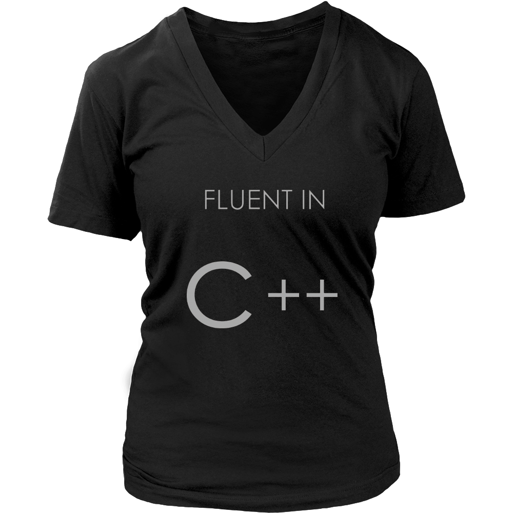 Fluent in C++ T-Shirt