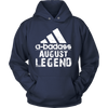 Legends Are Born In august T-shirt, Birthday gift Shirt