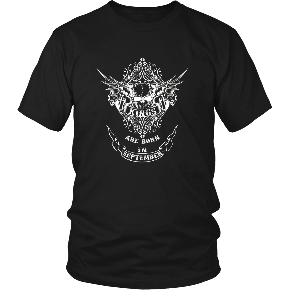 Kings are born in September T Shirt Unisex