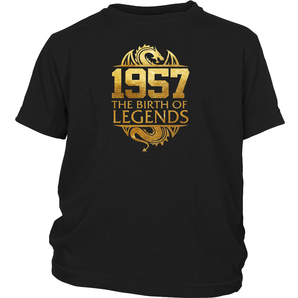 Legends Born In 1957 Birthday Gift For 60 Years Old