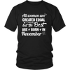 HE BEST WOMEN ARE BORN IN NOVEMBER -FUNNY T SHIRTS