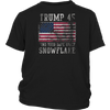 Trump 45 Find Your Safe Space Snowflake Shirt