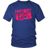 Legends are born in August T Shirt - Born In August T-Shirt
