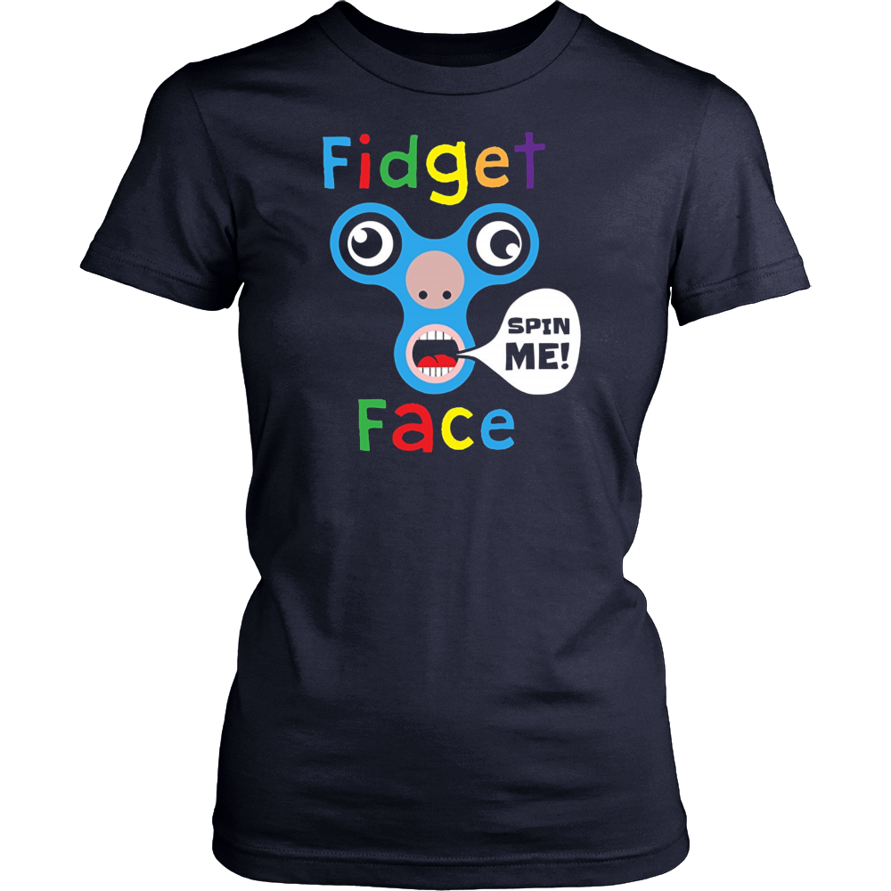 Fidget Face T-shirt - Funny Tee Shirt for Kids