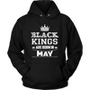 Black Kings Are Born In May T-Shirt Birthday Gift