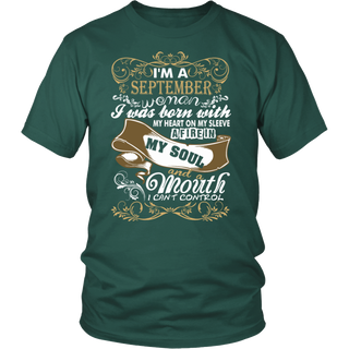 I'm A SEPTEMBER Woman T-Shirt