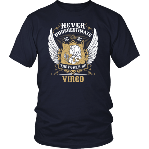 Never Underestimate The Power Of Virgo T-shirt