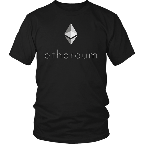 Ethereum - Prism Rainbow Light T-Shirt