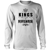 Kings are born in November- Birthday Gift T-shirt Hoodie