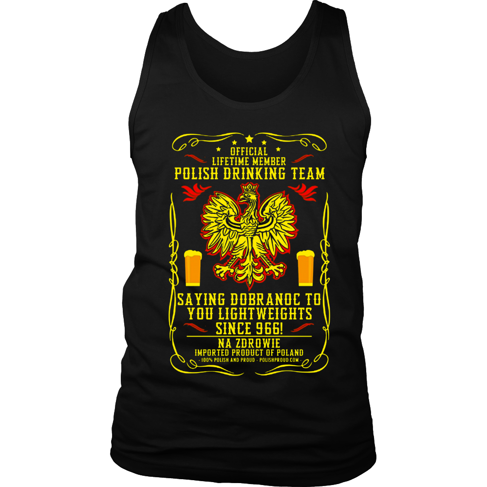 Polish Drinking Team Official Member Dobranoc Version