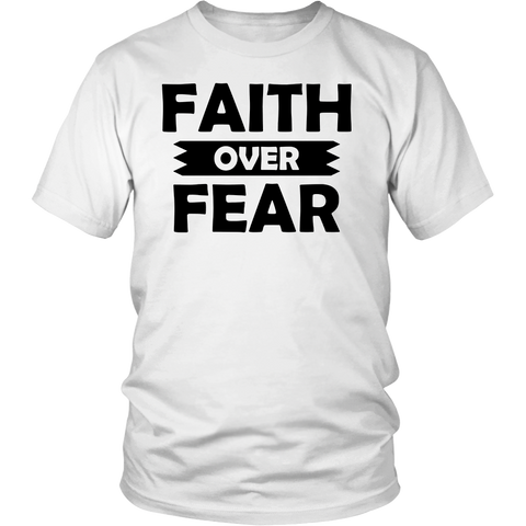 Faith Over Fear Women's Premium Quality T-Shirt