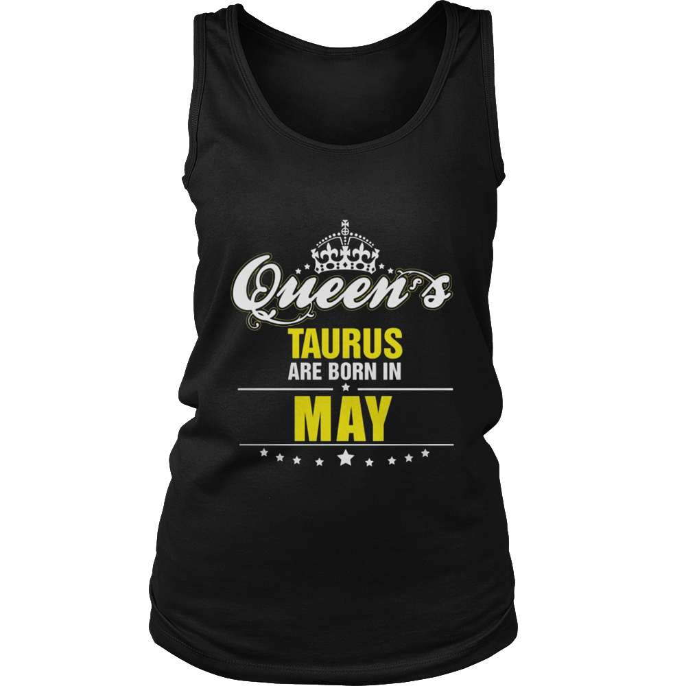 Queens Are Born In May Top T Shirt
