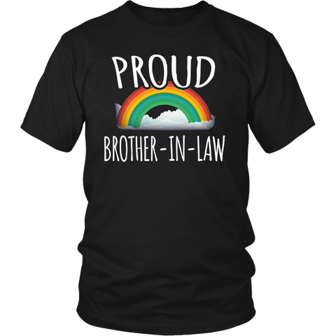 Proud Brother In Law Gay Pride t-shirt