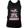 Perfect Woman Born In August T-Shirt
