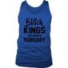 Black Kings are born in February T-Shirt